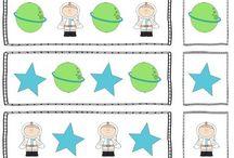 Grade 1 space theme