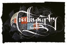 Calligraphy / by Tatania Rosa