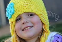 Crochet - Hats / Patterns and ideas for crocheted head-toppers / by Jen Thompson