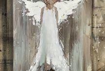anjel -biela