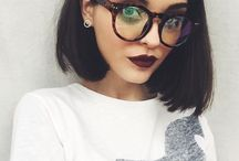 Makeup for glasses girls