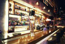 Friends Cafe Bar / interior design,cocktail bar