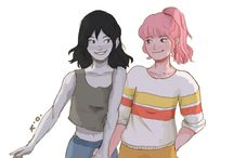 Marceline and Bubline.