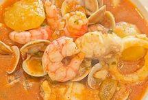 platos de pescado