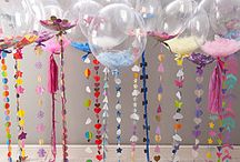 Balloon tassels/ srtings/ weights