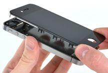 Sustitución de la pantalla del iPhone 4S  / Para sustituir la pantalla de iPhone 4s, siga los pasos siguientes.
