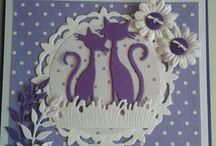 Katten creatable kaarten