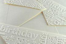 DIY Cards - Embossing