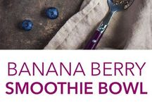 Smoothie Bowls / Delicious and pretty vitamin bombs