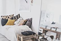 Inspirational interior / Interior design to decorate the house of my dreams