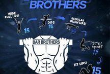 Bar brothers calisthenic