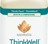 ThinkWell ® by Savesta / Think fast, ThinkWell ®! Supports healthy brain function.