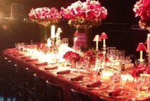 table setting / by Joanette L. Hansen