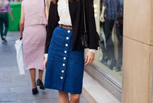 SS 2015 Inspiration...70s inspired skirts
