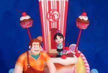 Movie cakes