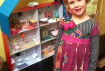 Dollhouse diy per Anna
