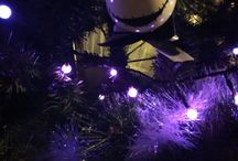 my pastel goth chrismas tree
