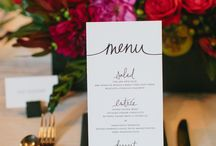 food signs & Menus / by Paula Clemente-Woods