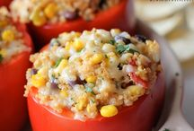 Stuffed Bell Pepper Quinoa