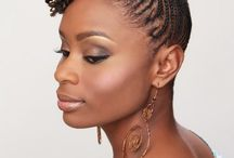 Cornrow Hairstyles / Natural, African, American, children's and big cornrow hairstyles for inspiration with images. Cornrow hairstyles for long, black, updo and natural hair. - http://beautifieddesigns.com/cornrow-hairstyles/