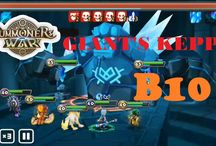 Summoners' War : Sky Arena - Giant B10 team auto run (Veromos, Belladeon, Chasun, Orochi, Shi Hou)