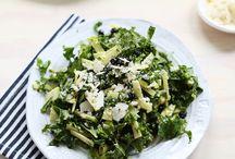 Salads.