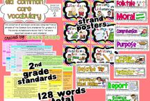 ELA in 2nd grade / by Sara Kuebler