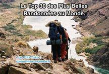 Top randonnée au monde