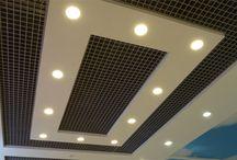 sadrokartón stropy, steny