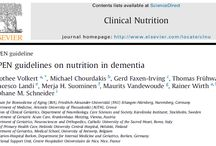 Research: Most useful nutrition, hydration & mealtime care dementia research articles