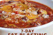 7-day - fat burning menu