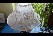 irish lace lampshade