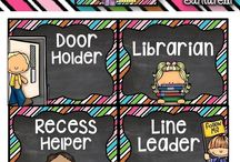 Chalkboard classroom decorations
