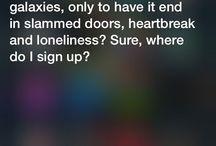Siri responses