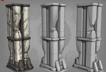 Environment / Pillars, columns