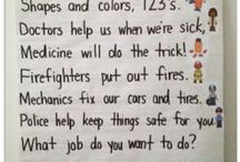 Jobs, community helpers