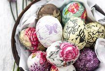 ouă pictate