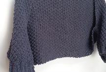 Knitting Patterns / Shrug