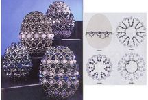beaded easter egg patterns