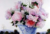 Flowers - Contamporary Visual Arts / Flowers in Art