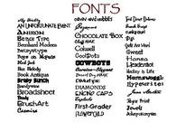 fonts / by Debbie Orosz