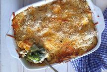 chicken and veggie casrole