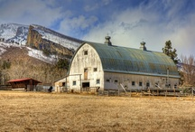 Barn Photos / Barn Pictures, Homestead Pictures, Montana Barns, Montana Homesteads, Farms, Ranches, Old Barns