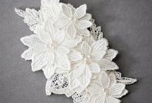 headpiece hairchomb bridal wedding beads inspiration