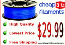 3D Filaments On Sale / Product offers, promotions, discounts, sales, and giveaways from Cheap 3D Filaments.com. www.cheap3dfilaments.com #3dprinting #3dfilaments #3dprint #3dprintingnews