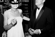 Black + White Masquerade Ball / capote 1966