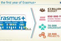 Chiffres Erasmus+ 2014 / Tous les chiffres pour la première année du programme #ErasmusPlus 2014