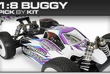 Pro-Line Racing 1:8 Buggy Pick-By-Kit / If you know you have a 1:8 Buggy but you aren't sure what Pro-Line products will fit then check out our pick-by-kit section to see what Pro-Line makes specifically for you!