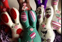 Easter / Easter felt creations and inspirations