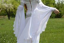 Medieval Wedding Dresses / Medieval wedding dress, renaissance wedding dress, princess dress, fantasy wedding dress